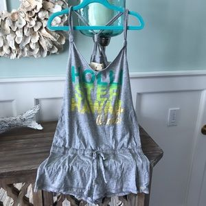 Small Hollister Gray Romper